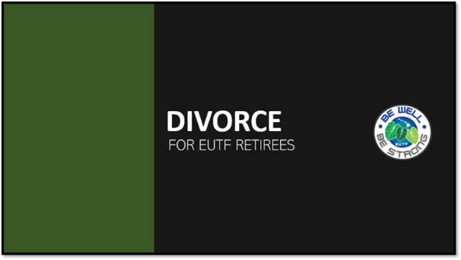 Divorce - Retiree