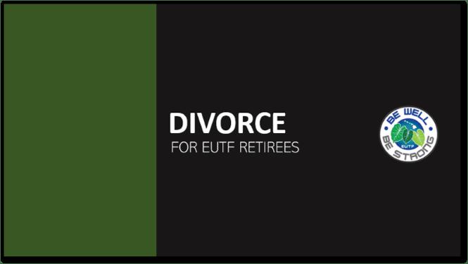 Divorce - Retiree