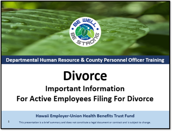 HRO Divorce